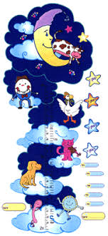 Nursery Rhymes Decorations Celestial Space Nursery Rhymes Priss Prints Wall Decorations