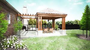 Backyard Covered Patio Ideas Outdoor Covered Patio Plans Charming Room Minimalist In