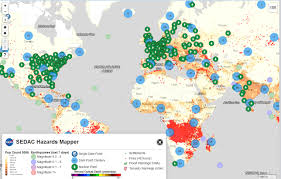 Map Of World Nuclear Power Plants by Mapping Tool Lets Users Pinpoint Hazards Data