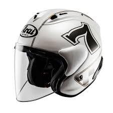 arai x tend arai sz ram x cafe racer jet white helmets vfnylwhe 392