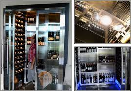Temperature Controlled Wine Cellar - miami wine cellar builder solves refrigeration problem
