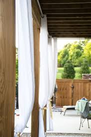 Sunbrella Outdoor Curtain Panels by Best 25 Outdoor Drapes Ideas On Pinterest Outdoor Curtains For