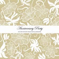 An Invitation Card Anniversary Invitation Cards Anniversary Invitation Cards For