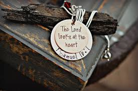 bible verse jewelry bible verse jewelry scripture necklace 1 samuel 16 7 the lord