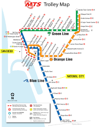 Amtrak Map Schedule by San Diego Transportation National City