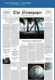 best print newspaper templates in adobe indesign u0026 photoshop