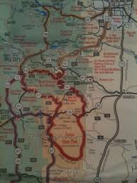 Map Of Custer State Park by Black Hills Central Railroad The Decompression Of A Boomer