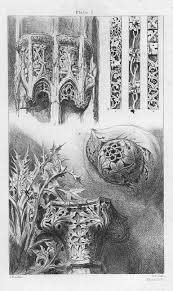ornaments from rouen st lô and venice by ruskin