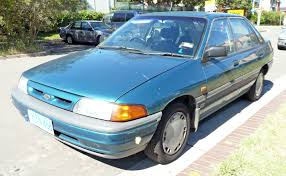 ford laser review and photos