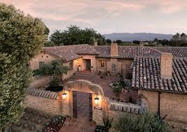 Adobe Style Home Adobe Hacienda On Ontiveros Built By Erling Pohls Santa Ynez
