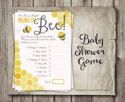 bee baby shower game price is right game mom to bee baby