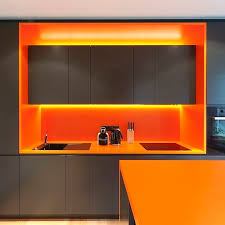 Orange Interior Best 25 Orange Kitchen Interior Ideas On Pinterest Blue Orange