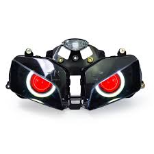 aliexpress com buy kt headlight for honda cbr600rr 2003 2006 led