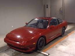 nissan 180sx jdm 1989 nissan 180sx red rs13 fed legal imports