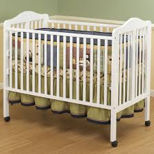 Folding Mini Crib by Crib With Different Levels Creative Ideas Of Baby Cribs