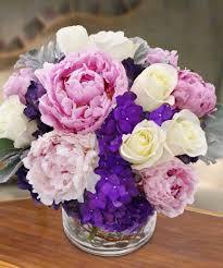 Peony Floral Arrangement by Spring Peonies Create Luxurious Arrangements Central Square Florist