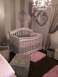 Wooden Nursery Decor by Decorating Cool Ideas Of Pink And Grey Nursery Kropyok Home