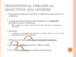 Powerful Adjectives Related Keywords Amp by Prepositions