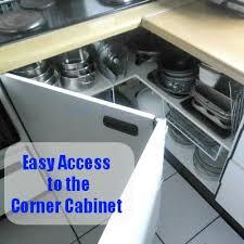 corner kitchen cabinet open up the kitchen corner cabinet with a blast