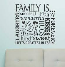 family is word collage vinyl wall lettering wall quotes family is word collage vinyl wall lettering wall quotes