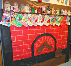 Christmas Office Door Decorating Themes by Christmas Door Decorations For Fireplace Kapan Date