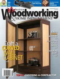 canadian woodworking u0026 home improvement february march 2015