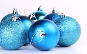 blue christmas ornaments wallpaper 8582 1920 x 1200