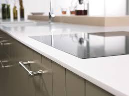plan de travail cuisine blanc brillant ophrey com cuisine blanc plan de travail chene prélèvement d