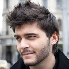 hairstyles for coarse hair men mens short hairstyles for thick