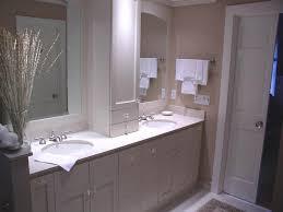 Bamboo Vanity Cabinets Bathroom by Bathroom White Bathroom Storage Tower Over Double Sink Vanity