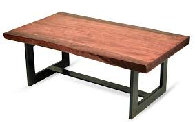 pine coffee tablethe live edge slab of this coffee table is