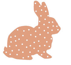 rabbit outline easter 2015 bunny cartoons cake silhouette
