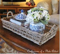 Coffee Table Tray by Confessions Of A Plate Addict Pottery Barn Inspired Rustic Coffee