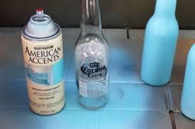 Diy Plastic Bottle Vase Diy Beer Bottle Bud Vases Shelterness