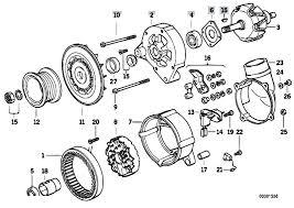 original parts for e36 320i m50 sedan engine electrical system