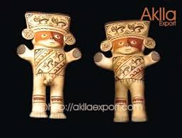 siege social cultura idolos cuchimilco de antigua cultura peruana figuras en ceramica