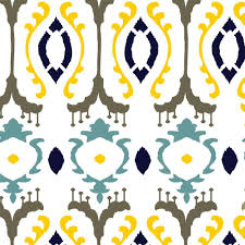 Ikat Home Decor by Stencil Ease 19 5 In X 19 5 In Burmese Ikat Wall Painting
