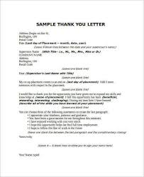 sample thank you letter to boss 22 free documents download in word