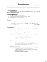 veterinary technician resume exles free sle veterinary assistant resume best of vet resume sle