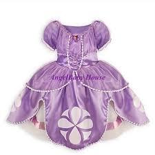 disney princess sofia the first dress costume dress light purple