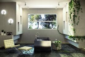 Stone Bathroom Designs Sunlight Streams Into Bathrooms Connected To Nature Natural
