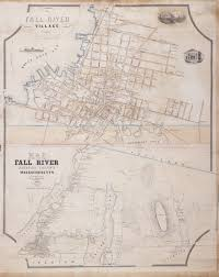 Massachusetts Map Of Towns by An Early And Very Rare Map Of Fall River Mass Rare U0026 Antique Maps