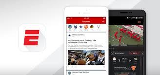espn app android espn app on ios app store play