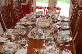 planning a seasonal tea party tea party