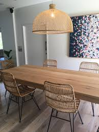 dining room wicker and glass dining table rattan garden dining