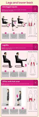 leg exercises at desk 5 minute exercise at work