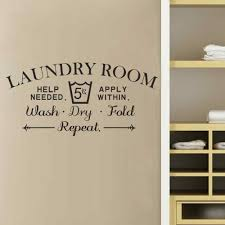 Laundry Room Decor Signs by Laundry Room Wall Decals Roselawnlutheran