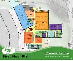 Community Center Floor Plans by Virtual Town Hall Kempsville Community Recreation Center