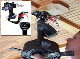 ceiling fan mounting bracket replacement how to install a ceiling fan pretty handy