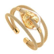 air bracelet bracelet by manuela zanvettori jewelry designer in murano for